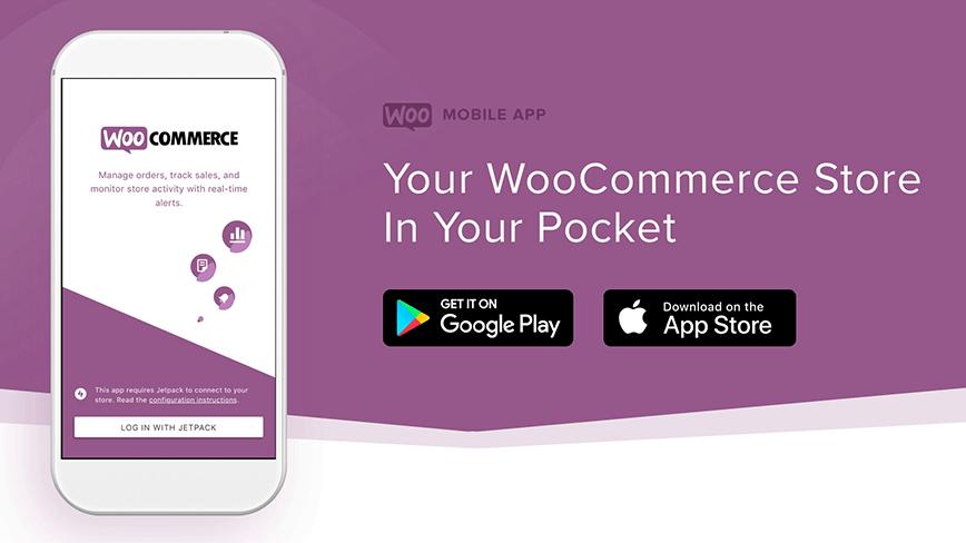 Lançamento do WooCommerce Mobile App